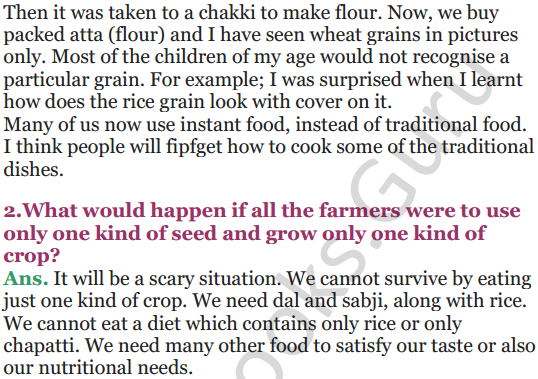 NCERT Solutions for Class 5 EVS Chapter 19 A Seed Tells A Farmers Story 8