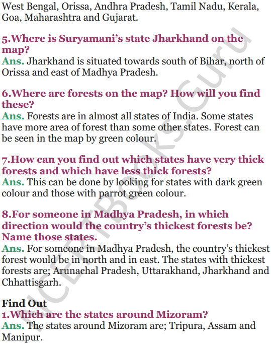 NCERT Solutions for Class 5 EVS Chapter 20 Whose Forests 6