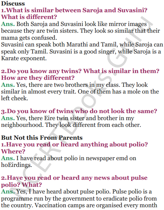 NCERT Solutions for Class 5 EVS Chapter 21 Like Father, Like Daughter 5