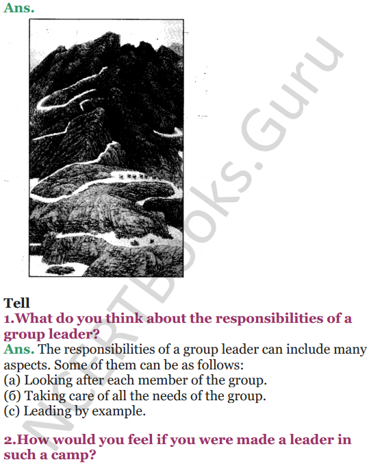 NCERT Solutions for Class 5 EVS Chapter 9 Up You Go 2