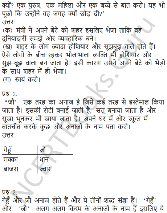 NCERT Solutions for Class 5 Hindi Chapter 1 रखा की रस्सी 2