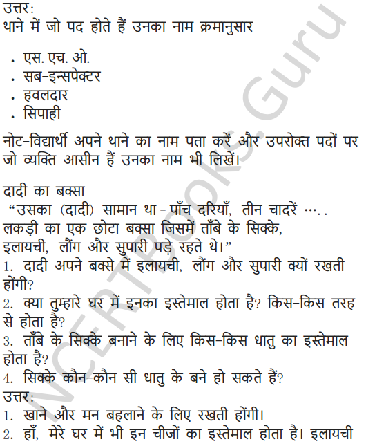 NCERT Solutions for Class 5 Hindi Chapter 13 स्वामी की दादी 5
