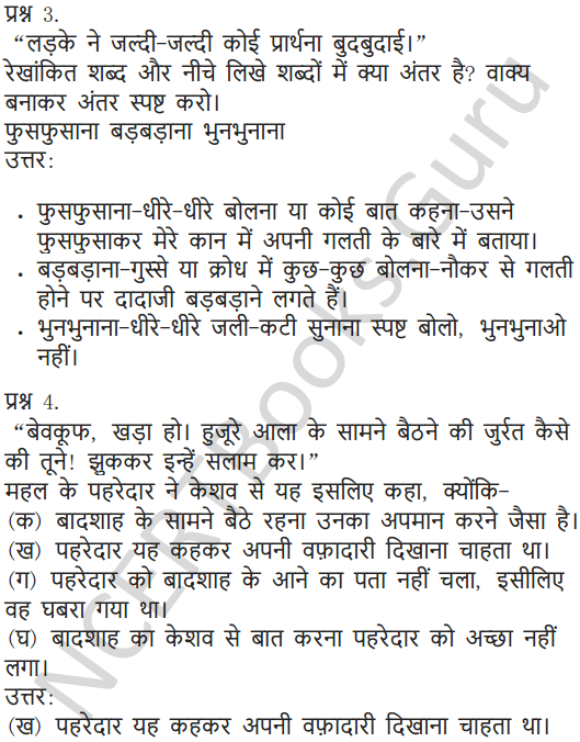NCERT Solutions for Class 5 Hindi Chapter 4 नन्हा फनकार 6