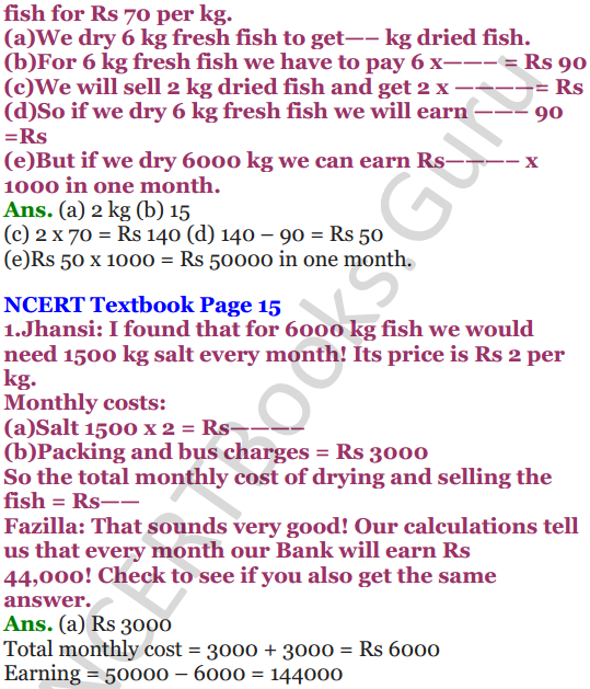 NCERT Solutions for Class 5 Maths Chapter-1 The Fish Tale 12