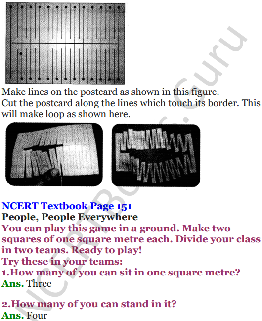 NCERT Solutions for Class 5 Maths Chapter 11 Area and Its Boundary 10