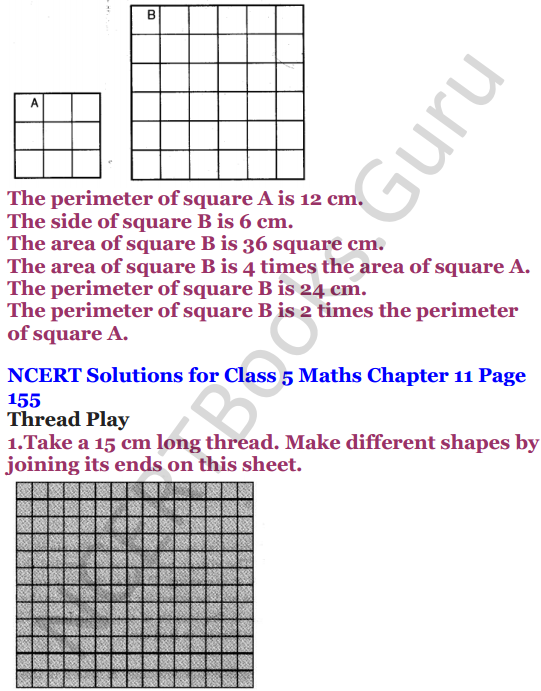 NCERT Solutions for Class 5 Maths Chapter 11 Area and Its Boundary 15