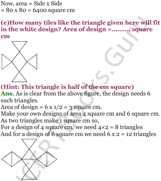 NCERT Solutions for Class 5 Maths Chapter 11 Area and Its Boundary 5