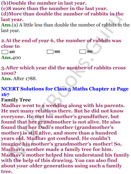 NCERT Solutions for Class 5 Maths Chapter 12 Smart Charts 10