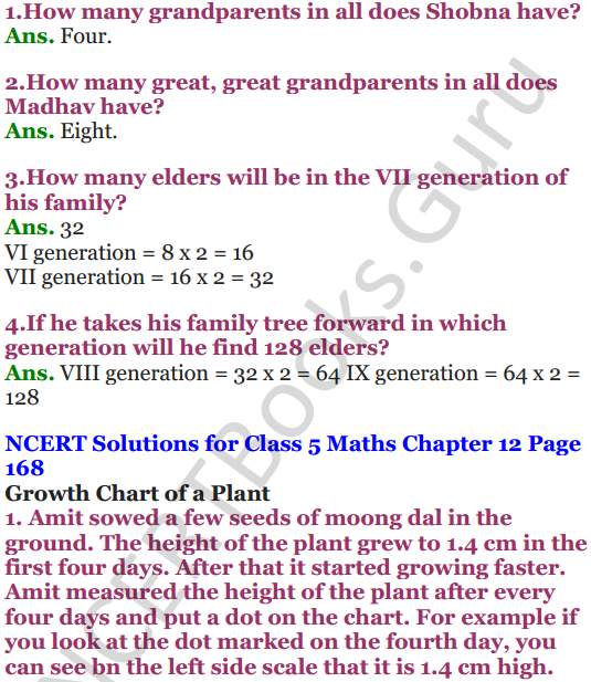 NCERT Solutions for Class 5 Maths Chapter 12 Smart Charts 11
