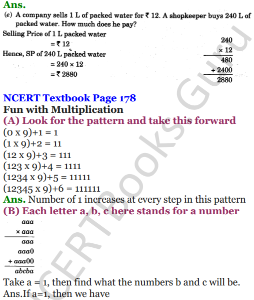 NCERT Solutions for Class 5 Maths Chapter 13 Ways To Multiply And Divide 14