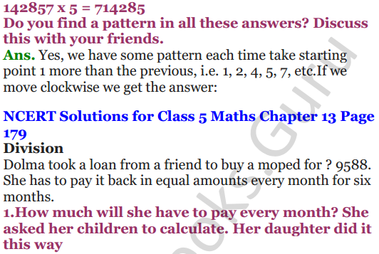 NCERT Solutions for Class 5 Maths Chapter 13 Ways To Multiply And Divide 16