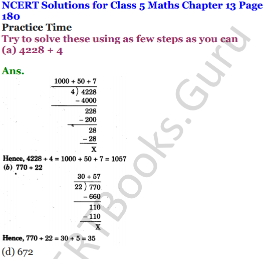 NCERT Solutions for Class 5 Maths Chapter 13 Ways To Multiply And Divide 18