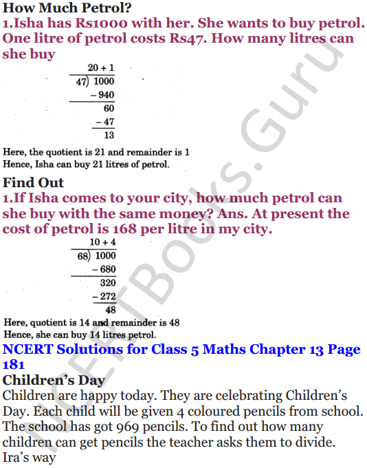 NCERT Solutions for Class 5 Maths Chapter 13 Ways To Multiply And Divide 21