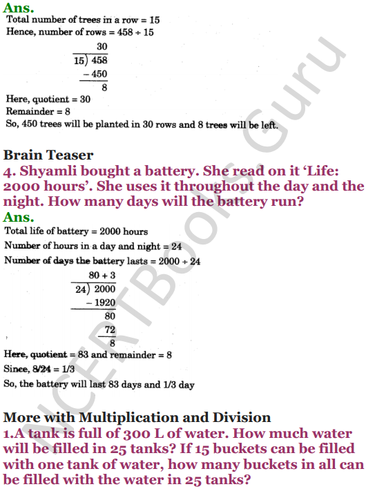 NCERT Solutions for Class 5 Maths Chapter 13 Ways To Multiply And Divide 24
