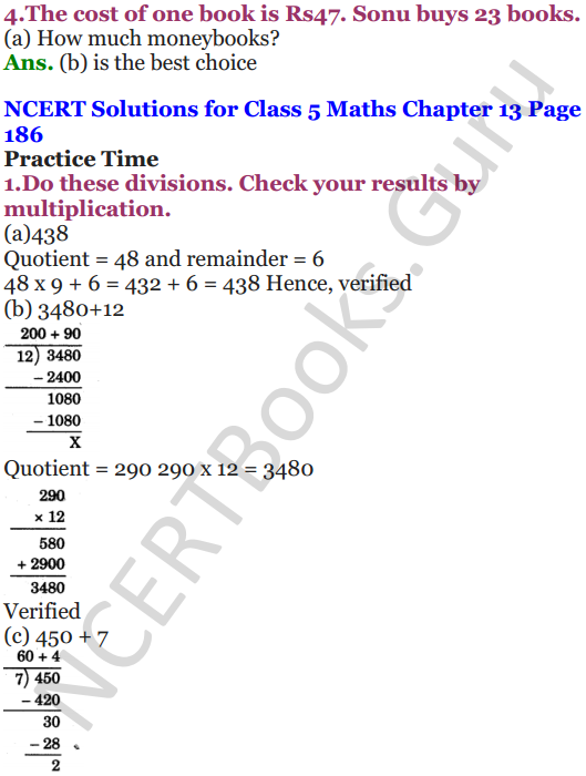 NCERT Solutions for Class 5 Maths Chapter 13 Ways To Multiply And Divide 27