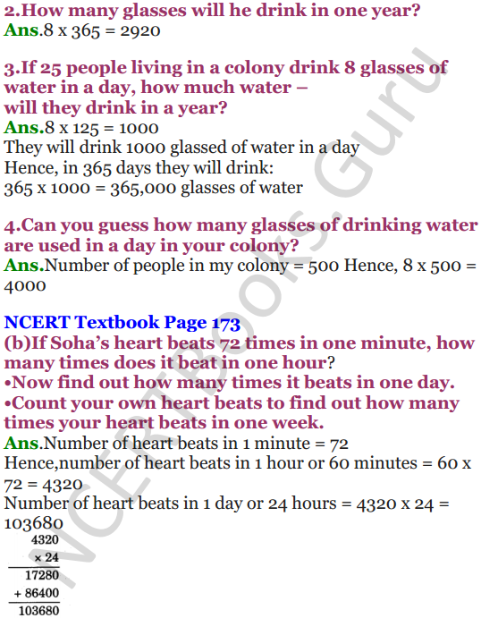 NCERT Solutions for Class 5 Maths Chapter 13 Ways To Multiply And Divide 5