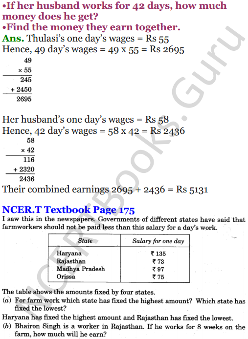 NCERT Solutions for Class 5 Maths Chapter 13 Ways To Multiply And Divide 9
