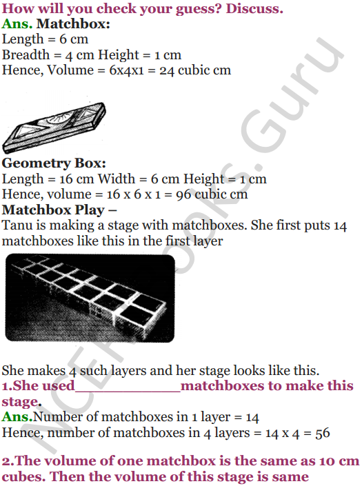 NCERT Solutions for Class 5 Maths Chapter 14 How Big How Heavy 4