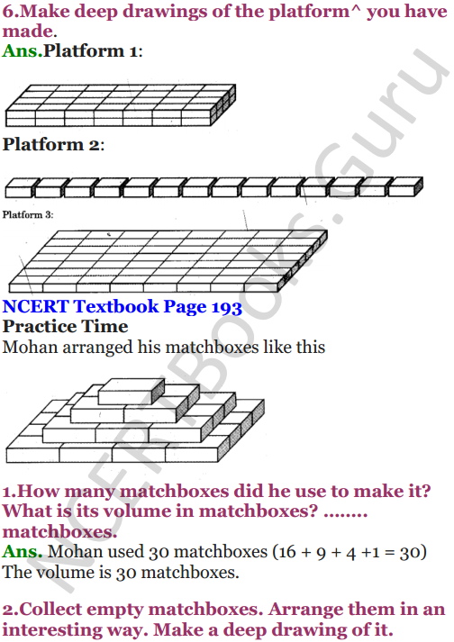 NCERT Solutions for Class 5 Maths Chapter 14 How Big How Heavy 6