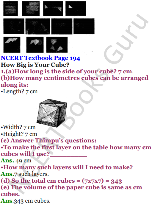 NCERT Solutions for Class 5 Maths Chapter 14 How Big How Heavy 8