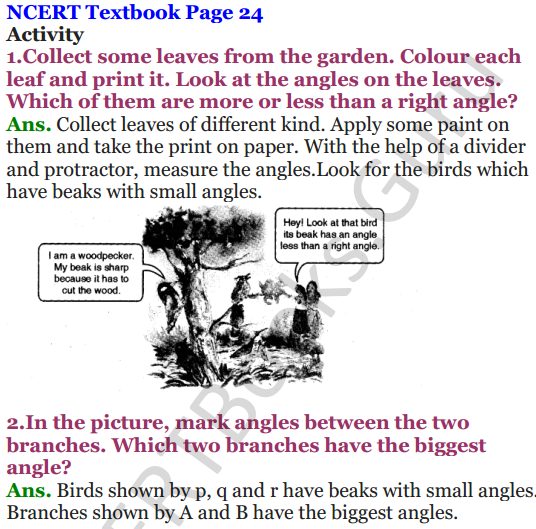 NCERT Solutions for Class 5 Maths Chapter 2 Shapes And Angles 10