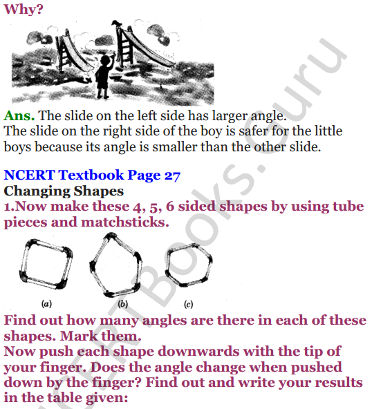 NCERT Solutions for Class 5 Maths Chapter 2 Shapes And Angles 12