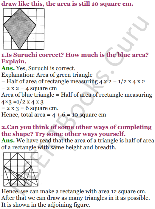 NCERT Solutions for Class 5 Maths Chapter 3 How Many Squares 13