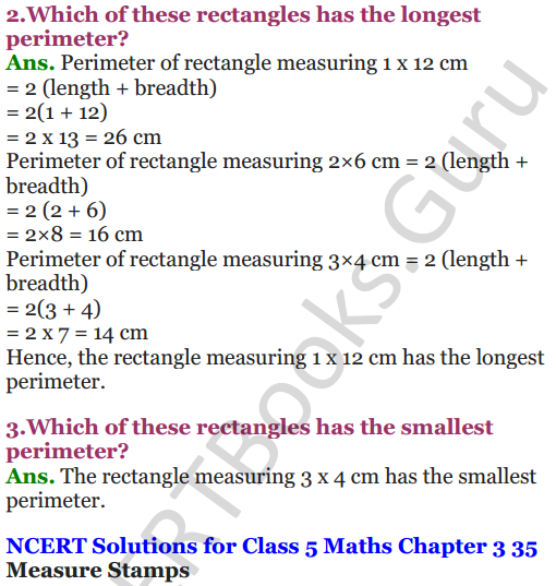 NCERT Solutions for Class 5 Maths Chapter 3 How Many Squares 2