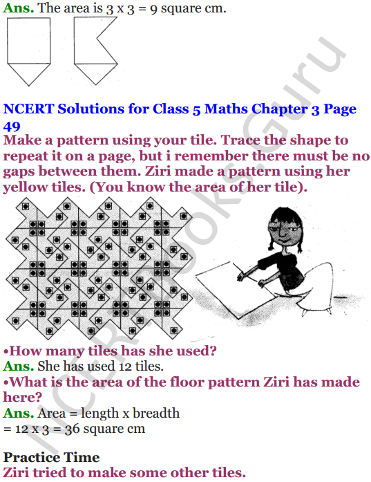 NCERT Solutions for Class 5 Maths Chapter 3 How Many Squares 20