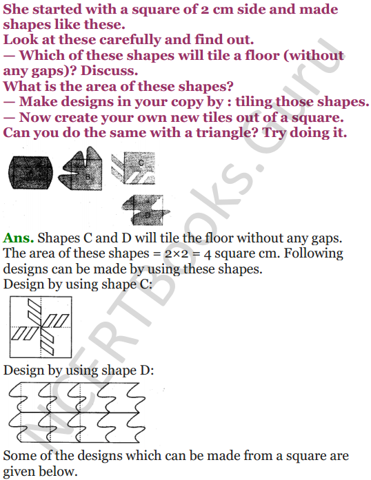 NCERT Solutions for Class 5 Maths Chapter 3 How Many Squares 21