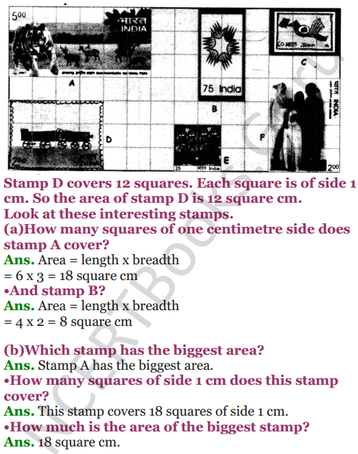 NCERT Solutions for Class 5 Maths Chapter 3 How Many Squares 3