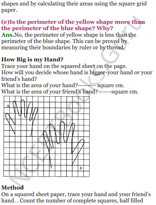 NCERT Solutions for Class 5 Maths Chapter 3 How Many Squares 5