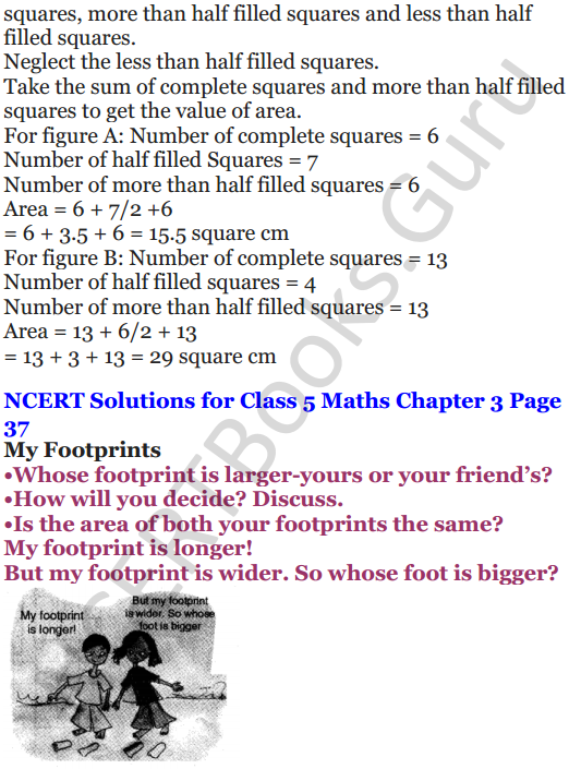 NCERT Solutions for Class 5 Maths Chapter 3 How Many Squares 6