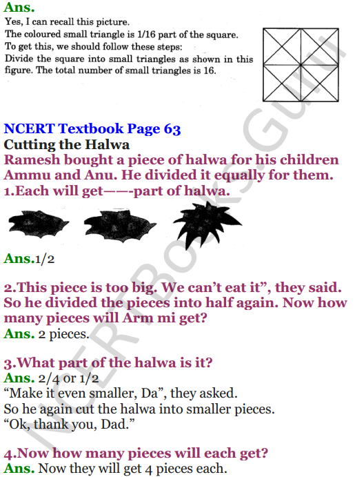 NCERT Solutions for Class 5 Maths Chapter 4 Parts And Wholes 15