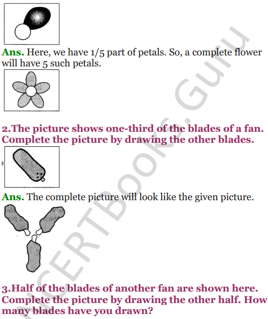 NCERT Solutions for Class 5 Maths Chapter 4 Parts And Wholes 18