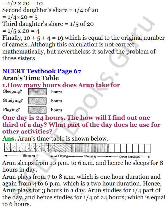 NCERT Solutions for Class 5 Maths Chapter 4 Parts And Wholes 20