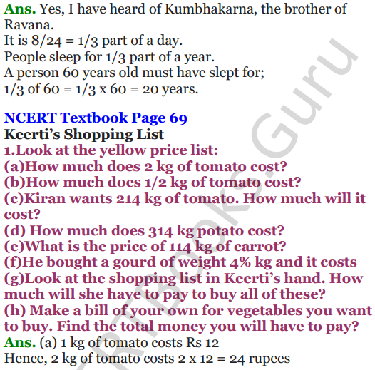 NCERT Solutions for Class 5 Maths Chapter 4 Parts And Wholes 22