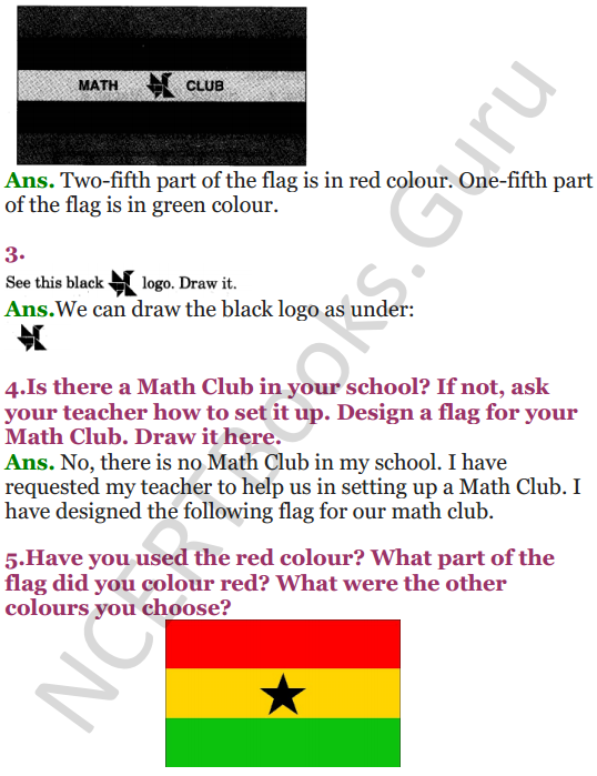 NCERT Solutions for Class 5 Maths Chapter 4 Parts And Wholes 5