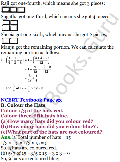 NCERT Solutions for Class 5 Maths Chapter 4 Parts And Wholes 7