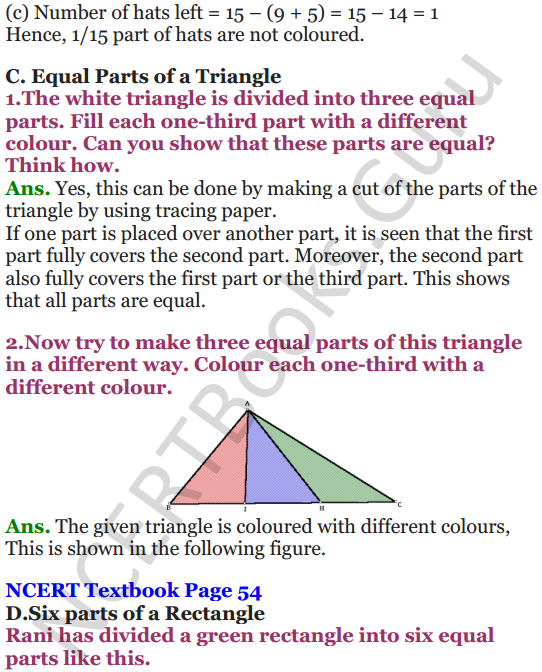 NCERT Solutions for Class 5 Maths Chapter 4 Parts And Wholes 8