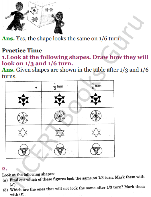 NCERT Solutions for Class 5 Maths Chapter 5 Does it Look The Same 12