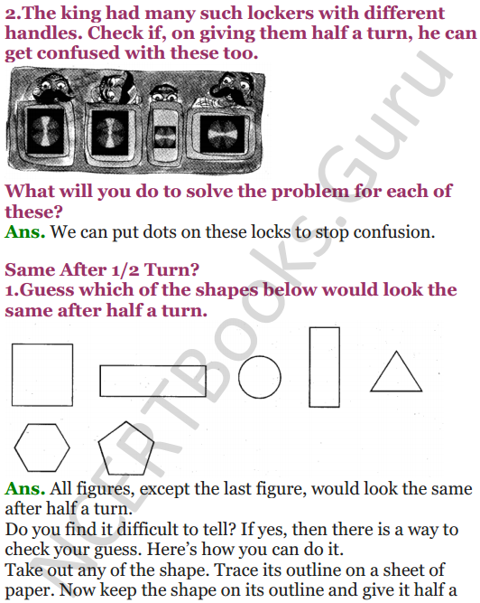 NCERT Solutions for Class 5 Maths Chapter 5 Does it Look The Same 5