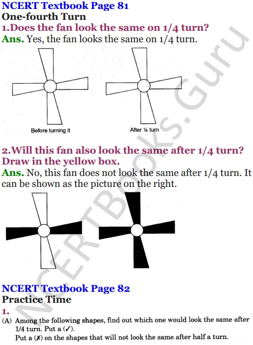 NCERT Solutions for Class 5 Maths Chapter 5 Does it Look The Same 8