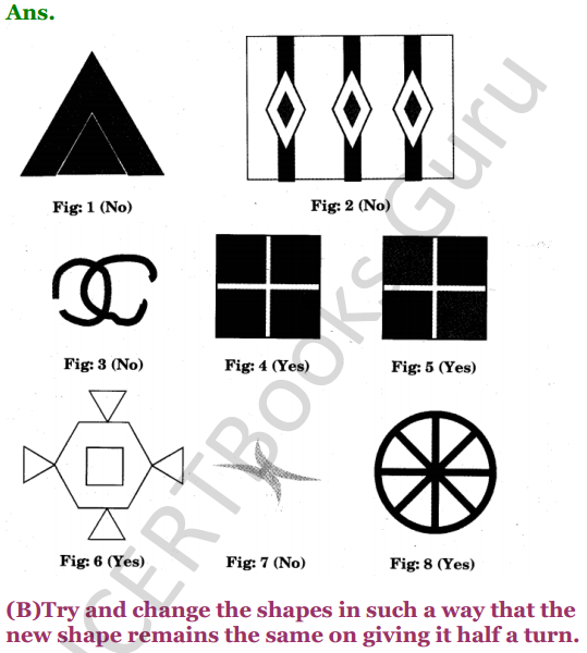 NCERT Solutions for Class 5 Maths Chapter 5 Does it Look The Same 9