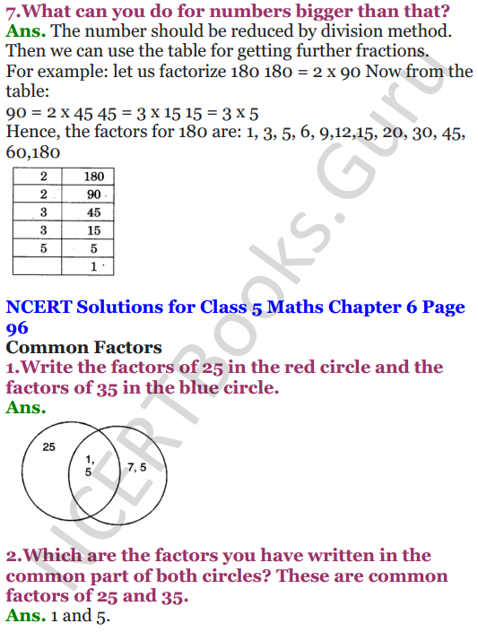 NCERT Solutions for Class 5 Maths Chapter 6 Be My Multiple,I'll Be Your Factor 11