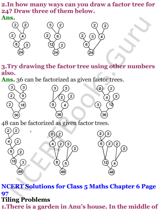 NCERT Solutions for Class 5 Maths Chapter 6 Be My Multiple,I'll Be Your Factor 13