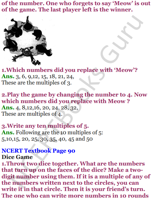 NCERT Solutions for Class 5 Maths Chapter 6 Be My Multiple,I'll Be Your Factor 3