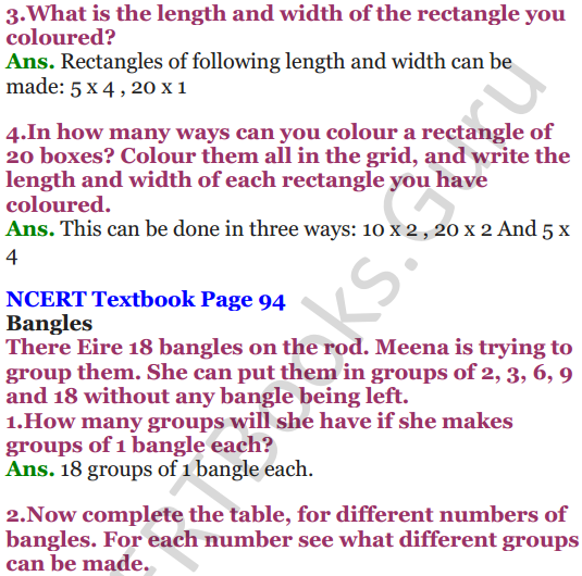 NCERT Solutions for Class 5 Maths Chapter 6 Be My Multiple,I'll Be Your Factor 8