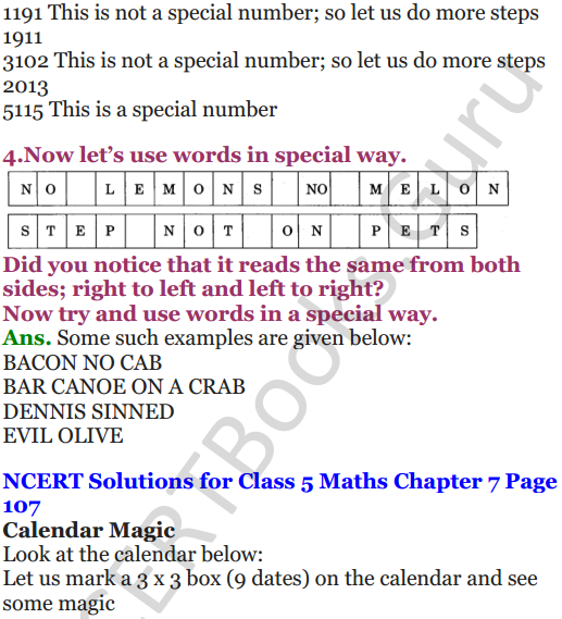 NCERT Solutions for Class 5 Maths Chapter 7 Can You See The Pattern 11