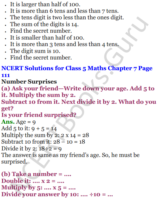 NCERT Solutions for Class 5 Maths Chapter 7 Can You See The Pattern 17